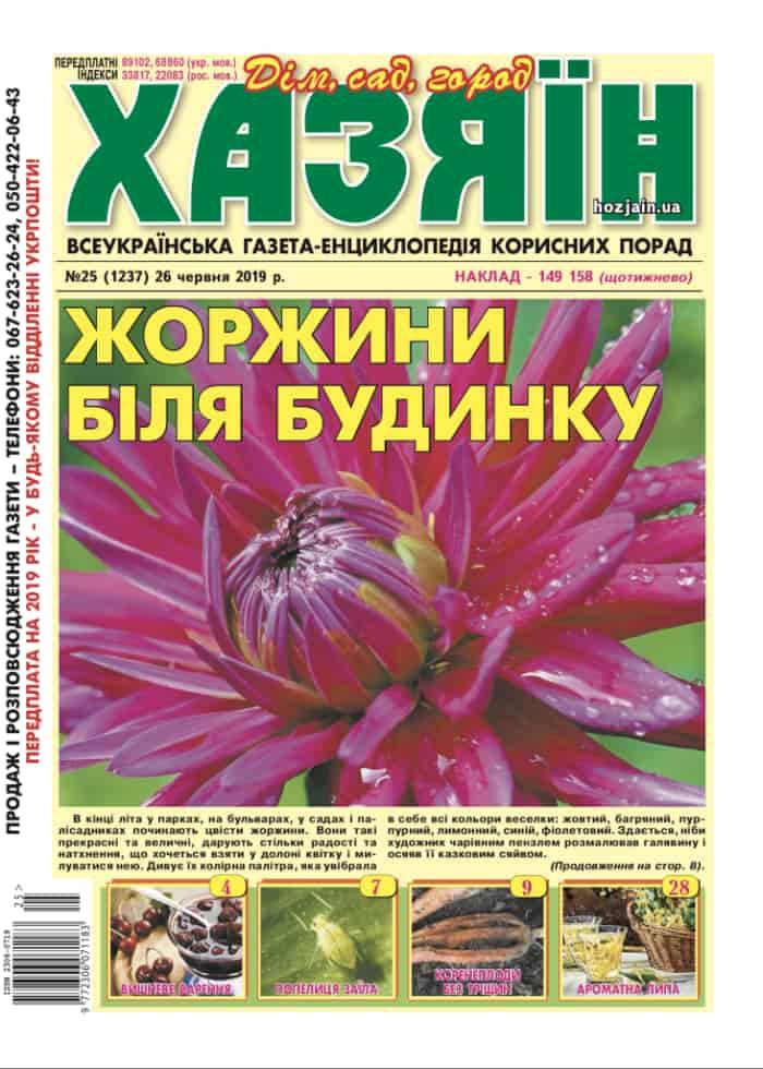 """Хазяїн"" №25/2019"