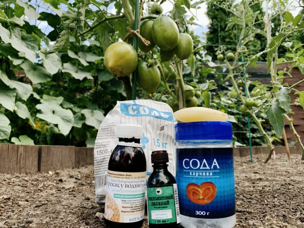 Народные средства на огороде