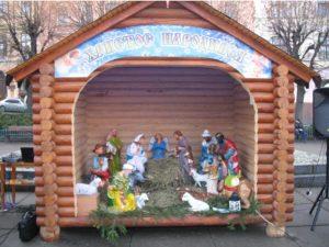 Рождественский вертеп в Черновцах