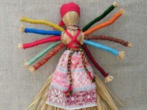 Кукла-мотанка Десятиручка