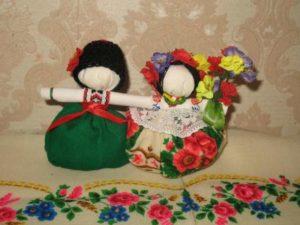 Мотанка Неразлучники (свадебная кукла)