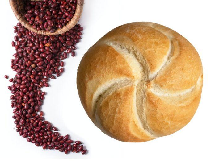 Хлеб... с порошком шиповника