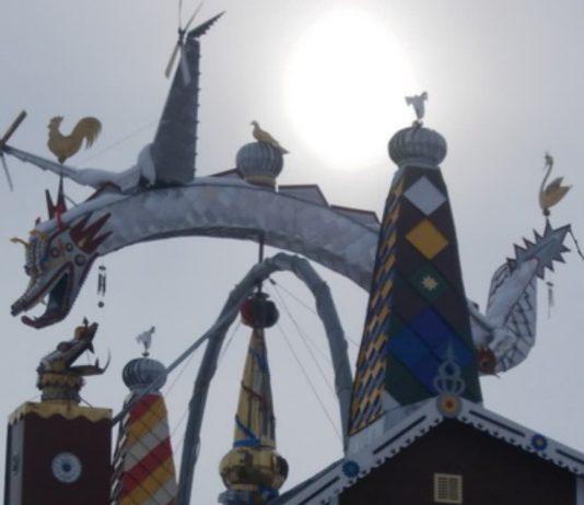 Дракон на… даху став символом однієї волинської родини