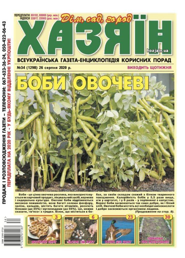 """Хазяїн"" №34/2020"
