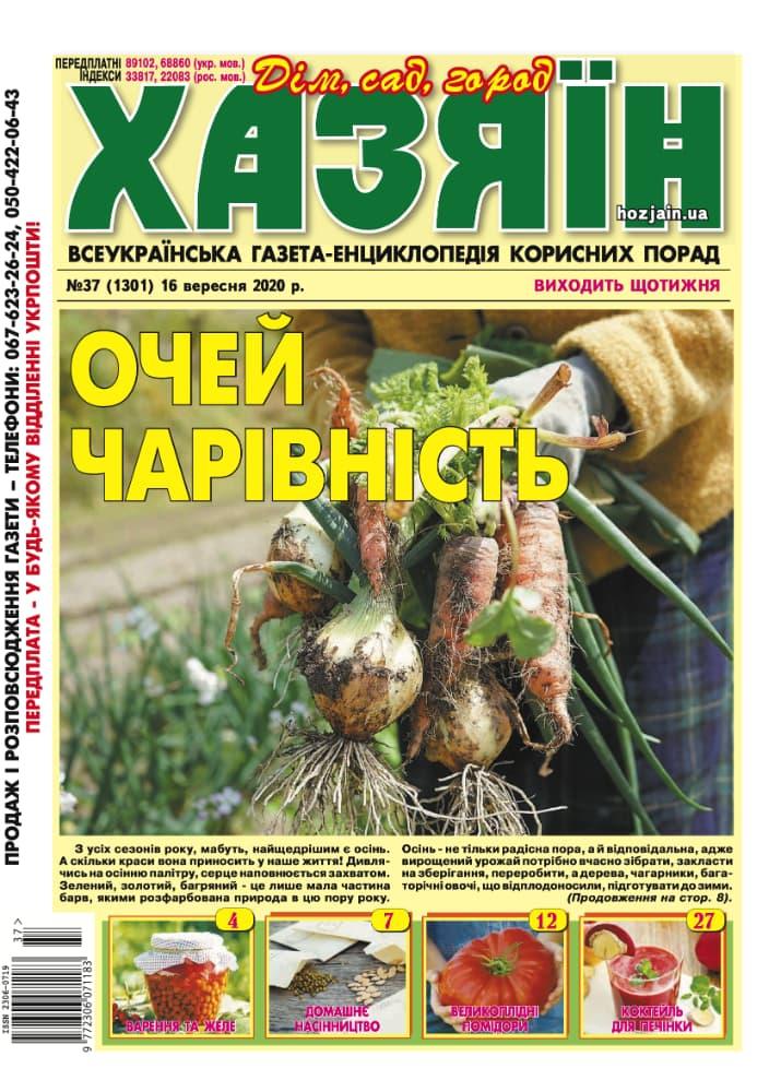 """Хазяїн"" №37/2020"