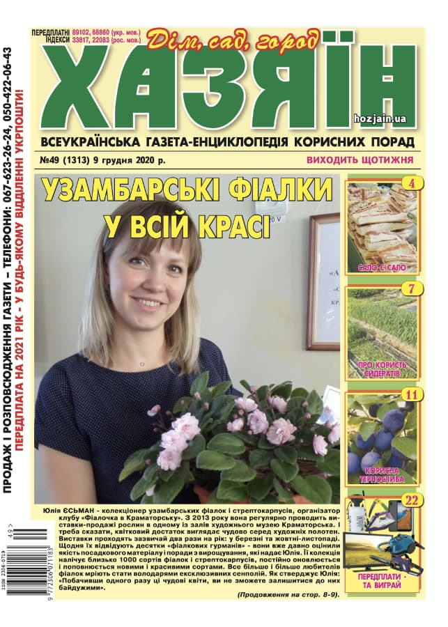 """Хазяїн"" №49/2020"