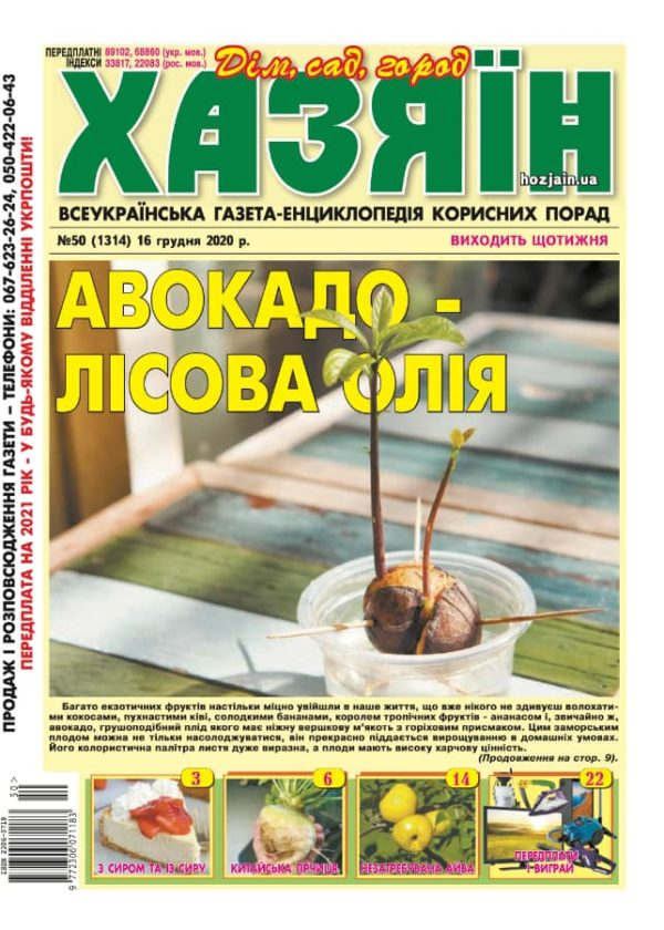 """Хазяїн"" №50/2020"