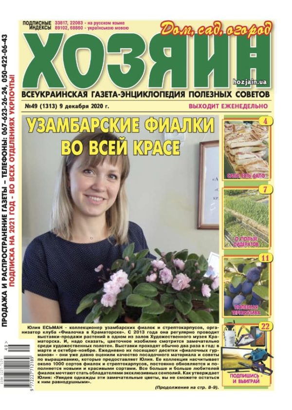 """Хозяин"" №49/2020"