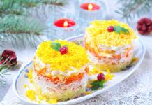 Зимние салаты