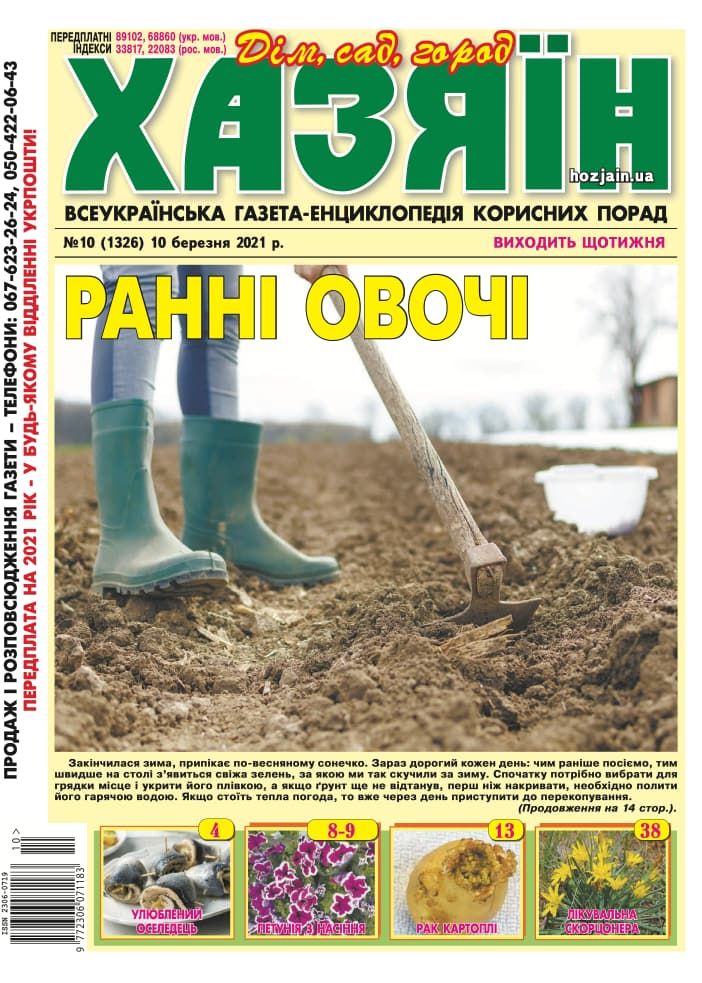 """Хазяїн"" №10/2021"