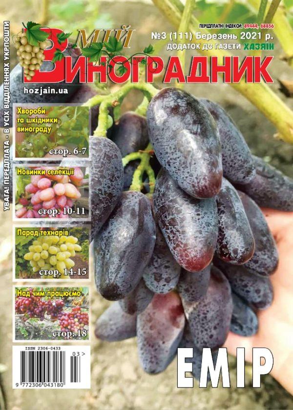 Мій виноградник №3/2021