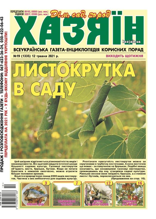 """Хазяїн"" №19/2021"