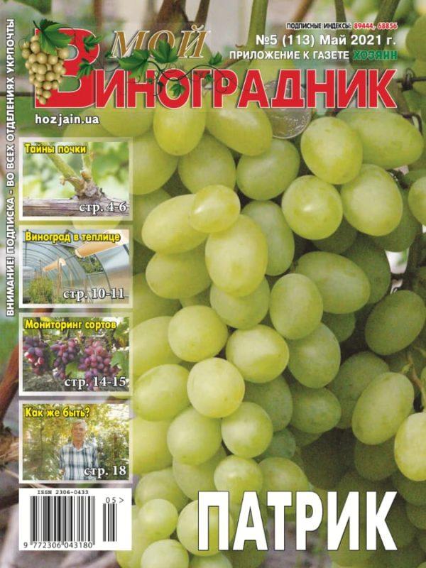 Мой виноградник №5/2021