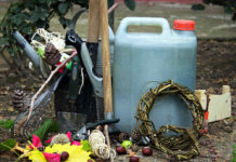 Осенний уход за садом