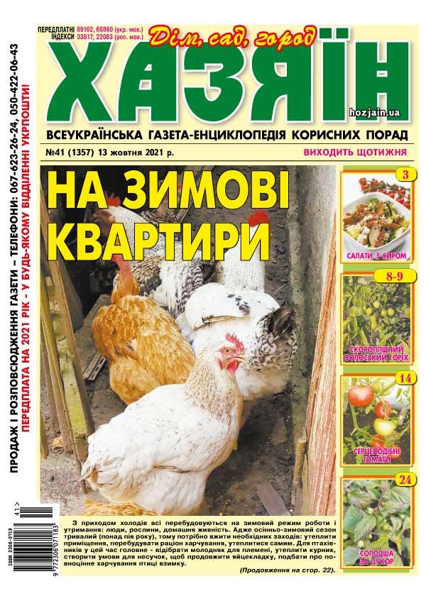 """Хазяїн"" №41/2021"